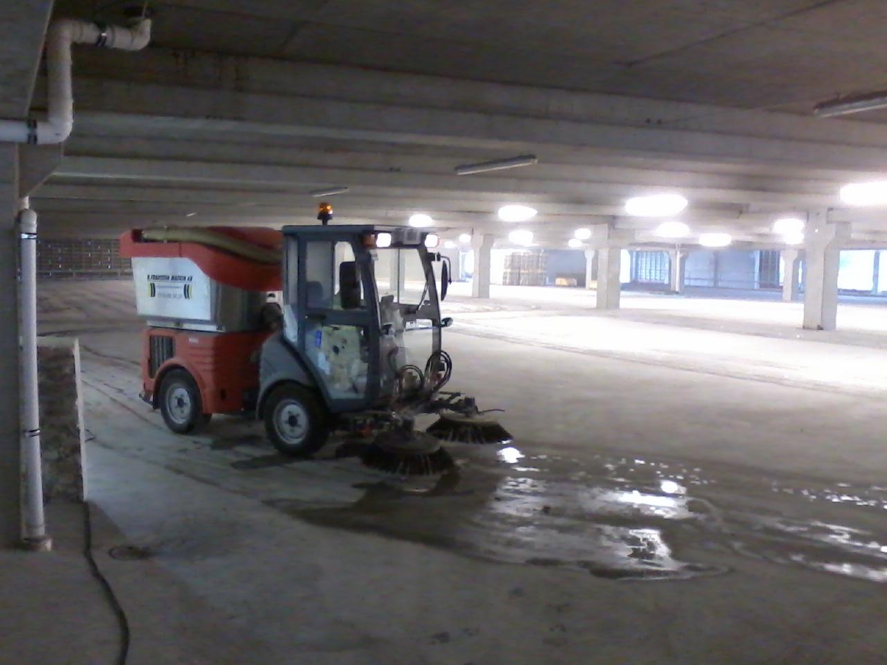 Hako parkeringshus Nordby