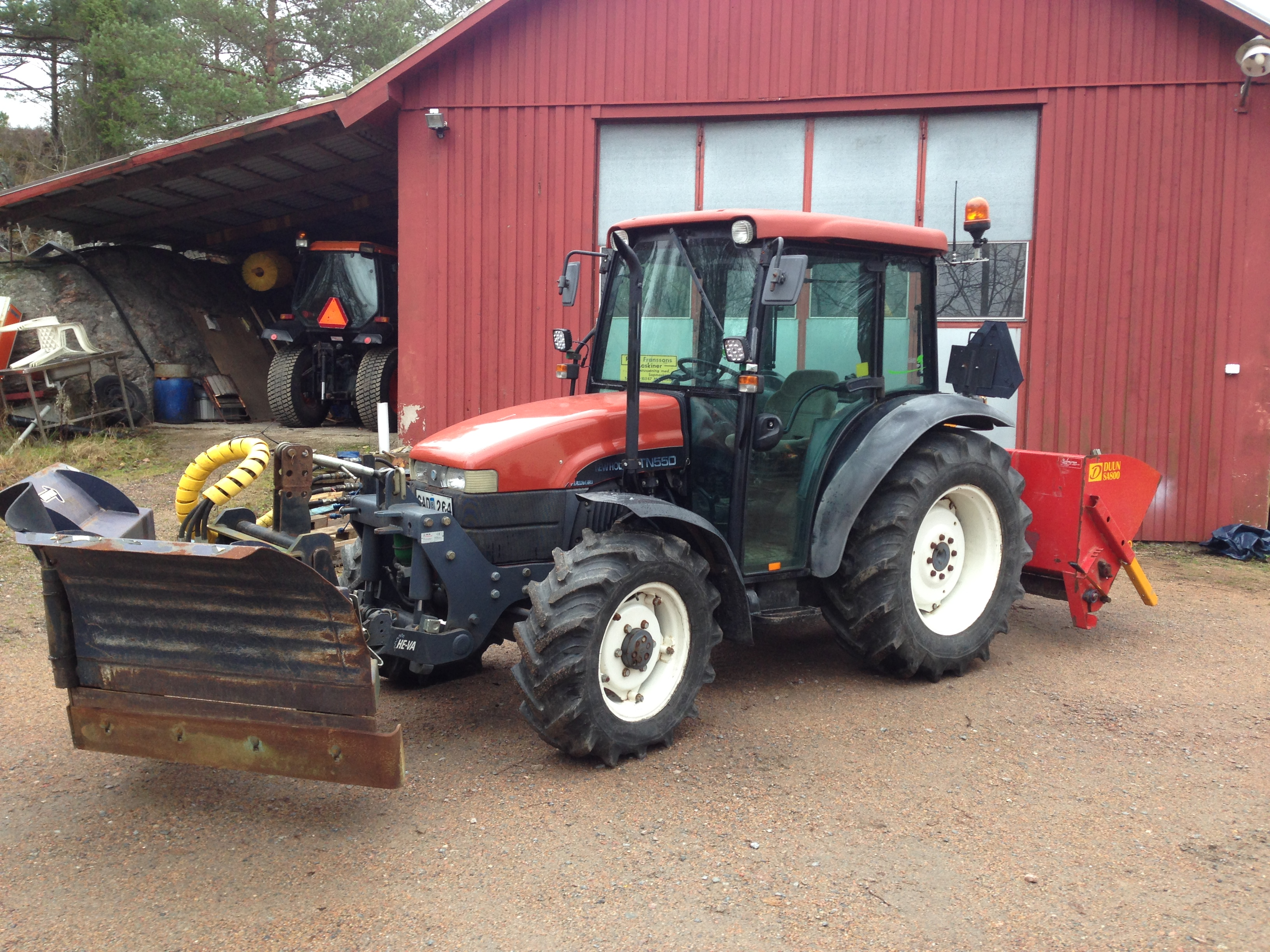 New Holland TN 55d